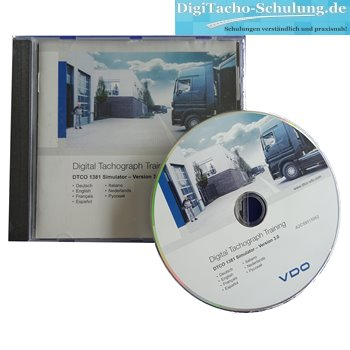 Simulator-Software VDO DTCO 1381